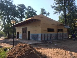 Chaco: ampliaron un hospital provincial en Fontana con un sistema constructivo de madera en tan solo cuatro días