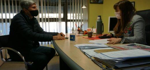 La ministra Silvana Giménez y el presidente del INYM acordaron trabajo en conjunto