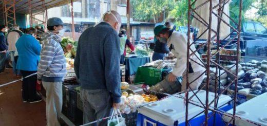 Coronavirus: con todas las medidas de seguridad, volvieron las Ferias Francas en Posadas