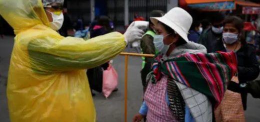 Coronavirus: Bolivia alertó que podrían duplicarse los casos durante la próxima semana