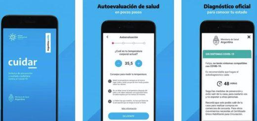 Cuidar: así funciona la App de autocontrol que deberían utilizar quienes vuelvan a trabajar