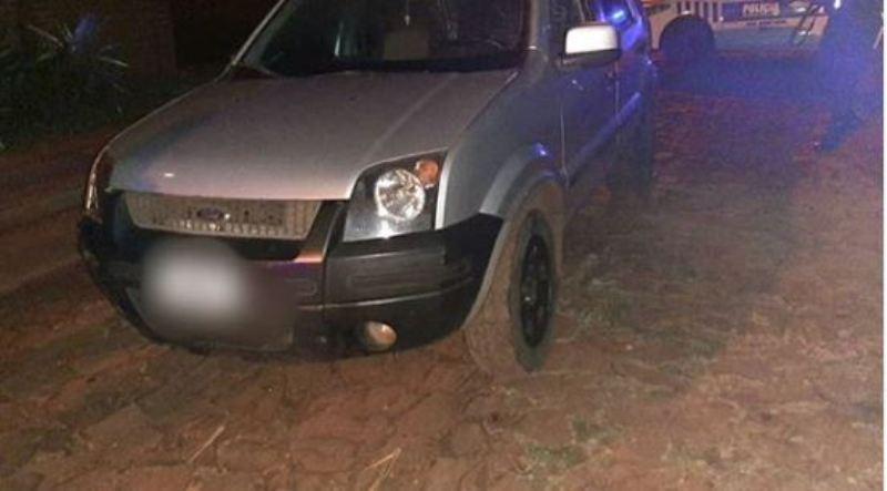 Posadas: interceptaron una camioneta robada que transportaba una carga ilegal de cigarrillos