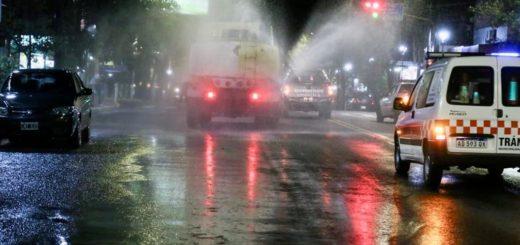Coronavirus: realizaron jornadas de desinfección y fumigación en la ciudad de Eldorado
