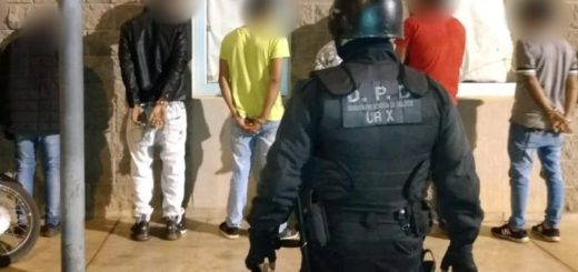 Grupo violento fue detenido en Garupá por provocar agresiones y violar el aislamiento de la cuarentena