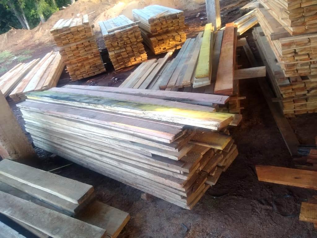 Mojón Grande: un aserradero sin habilitación ni documentación de origen legal de la madera nativa fue clausurado por segunda vez