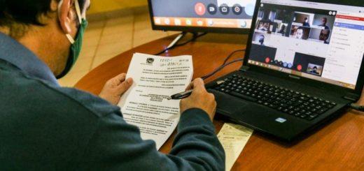 Coronavirus: el intendente de Eldorado Fabio Martínez dio detalles de la apertura de comercios y otras actividades al Comité de Crisis por videoconferencia