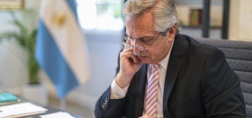 """""""Cuidar lo conseguido"""", el pedido del presidente Alberto Fernández a los argentinos"""