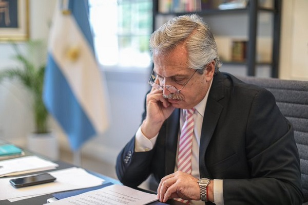 Coronavirus: Alberto Fernández anunció que propondrá un nuevo «contrato social» tras la pandemia