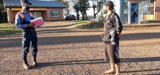 Coronavirus: cuarentena para un hombre que ingresó desde Brasil por Bernardo de Irigoyen, y trataba de llegar a Posadas recorriendo 300 kilómetros en bicicleta