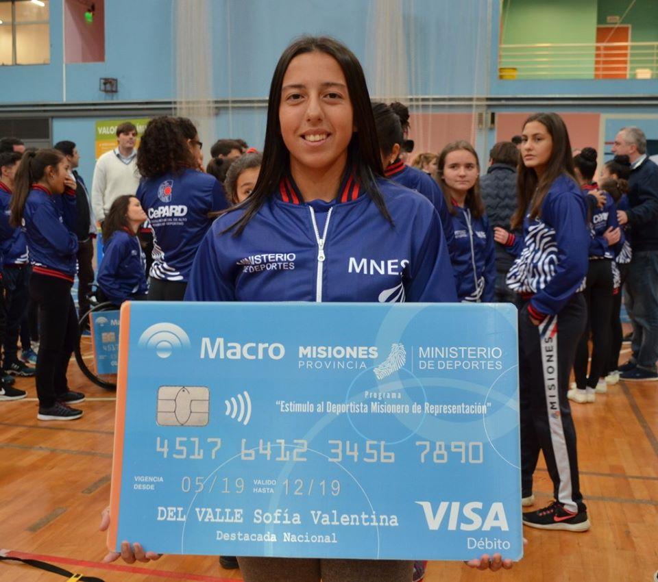 """""""Mi objetivo es volver a la selección"""", señaló Sofía del Valle, palista misionera"""