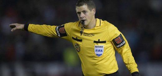 Germán Delfino reconoció que cometió un grosero error en el River-Boca de la Libertadores 2015