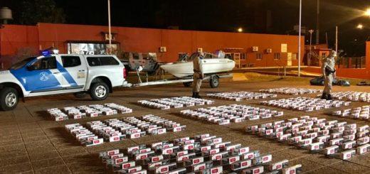 Posadas: persecución en el río Paraná y disparos intimidatorios en un operativo de Prefectura contra contrabando de cigarrillos