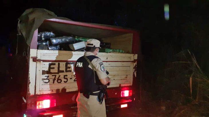 Prefectura secuestró casi cuatro toneladas de marihuana en Puerto Maní