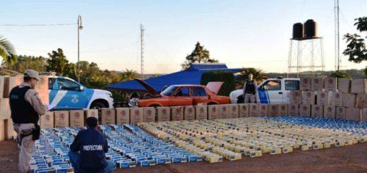 Exponencial aumento del contrabando de cigarrillos en la frontera durante la pandemia de coronavirus