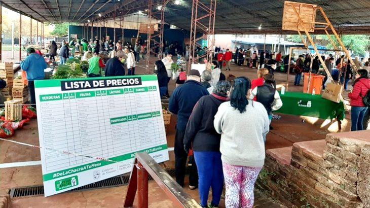 Multitudinaria concurrencia a las Ferias Francas posadeñas durante el pasado fin de semana