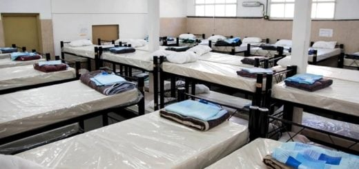 Coronavirus: notificaron un contagio masivo en un refugio de Retiro para personas en situación de calle y debieron clausurarlo
