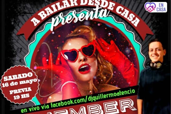 Remember Fiesta Online: #ABailarDesdeCasa lanzó su segunda fiesta temática para este fin de semana y podrás disfrutarla por Radio Libertad