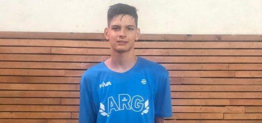 Sebastián Weremczuk entrena desde casa y no pierde la ilusión de volver a la Selección argentina de Voley