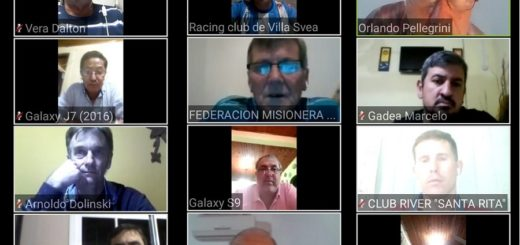 Coronavirus: se realizó la reunión virtual de la Liga Regional Obereña de Fútbol
