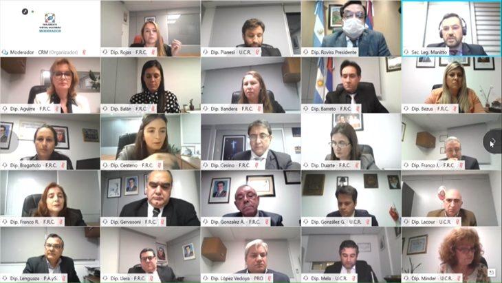 """La Legislatura misionera tuvo su segunda sesión en modalidad """"online"""""""
