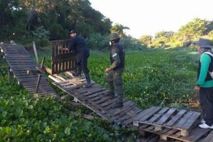Denuncian que paraguayos cruzan ilegalmente a Formosa para cobrar los $10.000 del IFE