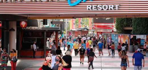 Universal Studios reabrió al público en medio de la pandemia por el coronavirus