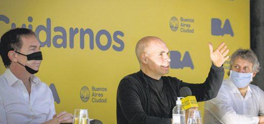 Coronavirus: la Ciudad de Buenos Aires no descarta retrotraer la flexibilización la semana que viene