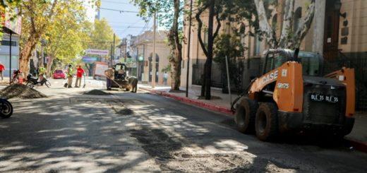 Avanza en Posadas la recuperación de calles a través del plan de bacheo de la Municipalidad