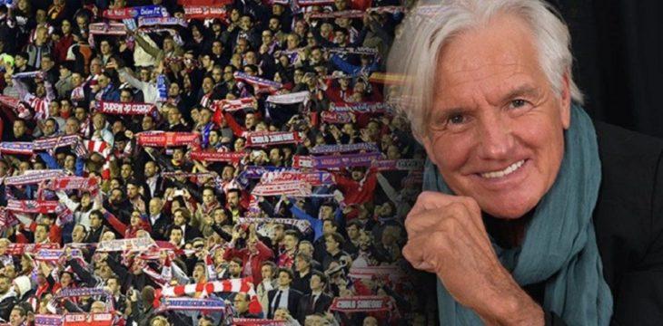 Sergio Denis y una canción suya que las hinchadas de los principales clubes de fútbol del mundo cantan en cada partido