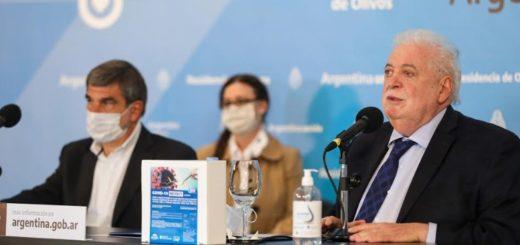 Los ministros de Salud y Ciencia presentaron el test de diagnóstico rápido para la detección del coronavirus