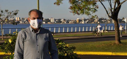 """Coronavirus: """"El buen comportamiento de la gente nos lleva a ser optimistas para otra caminata"""", indicó Leonardo Stelatto, intendente de Posadas"""