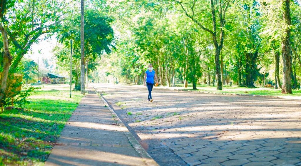Coronavirus: en Eldorado las caminatas recreativas se desarrollaron con total normalidad