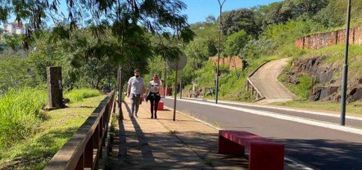 Con las caminatas recreativas habilitadas en Puerto Iguazú, la comunidad comenzó a disfrutar de las salidas de esparcimiento