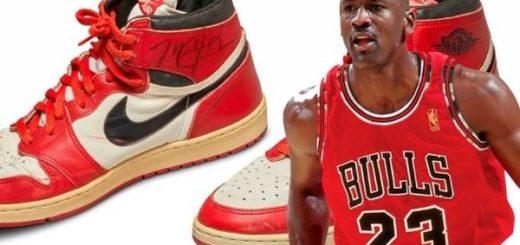 Básquet: pagaron una fortuna por las primeras zapatillas que usó Michael Jordan en la NBA
