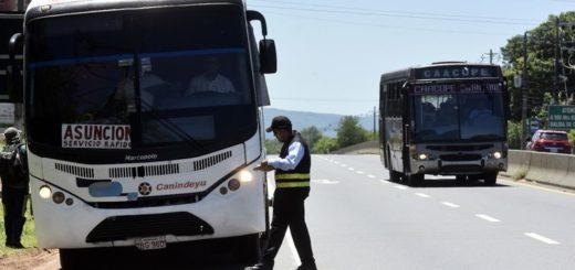 Coronavirus: desde este lunes vuelven a funcionar los colectivos de corta, media y larga distancia en Paraguay