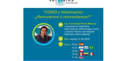 """Veterinaria Bayer te invita a participar del encuentro online """"COVID y Veterinarios: ¿Renovarnos o Reinventarnos?"""""""