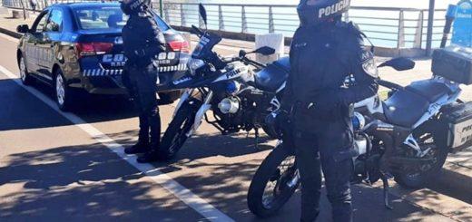 Más de 250 policías controlaron las caminatas recreativas en los distintos municipios de Misiones