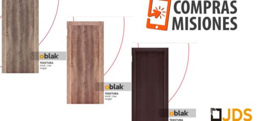 Ahora podés adquirir las innovadoras puertas Oblak de JDS Aberturas y Vidrios a través de ComprasMisiones.com.ar