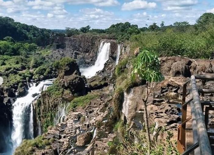 Las Cataratas continuarán sin agua hasta junio cuando se esperan lluvias en la Selva do Mar, donde nace el río Iguazú