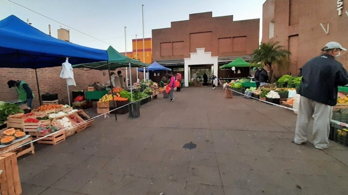Unos 150 productores comercializaron en las Ferias Francas de Posadas, bajo riguroso protocolo sanitario