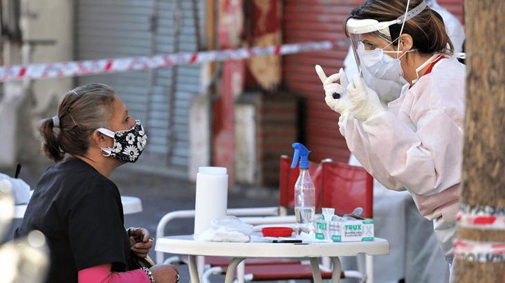 Hay 8371 casos confirmados de coronavirus en el país y más del 80% corresponden a Buenos Aires