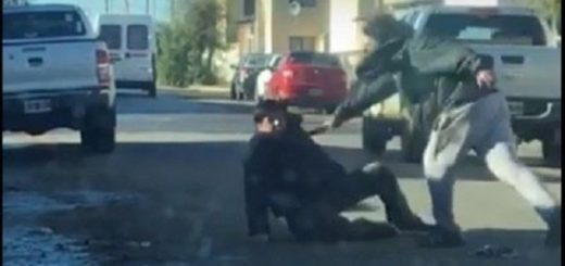 Apuñaló a un hombre durante un robo en un supermercado y lo detuvieron por dos horas y media
