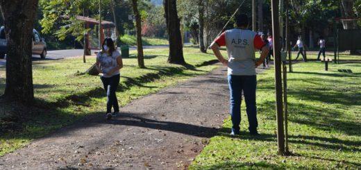 Montecarlo: destacan la responsabilidad social de la comunidad en las caminatas recreativas
