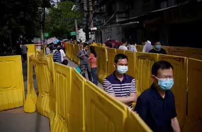 Wuhan realizó un millón de tests de coronavirus en una semana