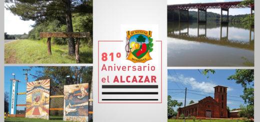 La localidad de El Alcázar celebra hoy su 81° Aniversario