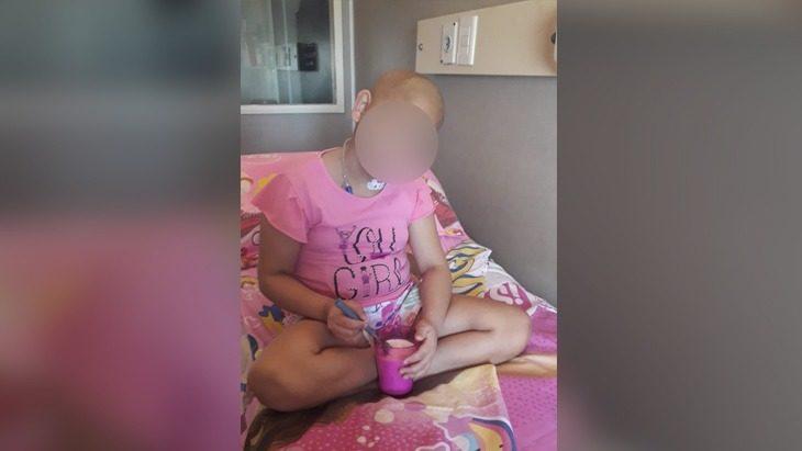 Nena misionera que tiene cáncer solicita ayuda para conseguir la droga que necesita para su tratamiento