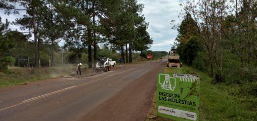 Vialidad avanza con mejoras en la Ruta Provincial N° 4 y en el acceso al Parque Temático de Santa Ana