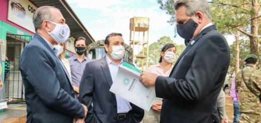 El Intendente de Posadas acompañó al ministro de Defensa Agustín Rossi en el recorrido por la Cocina Centralizada de Miguel Lanús