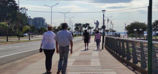 Al final los viejos pudimos salir a caminar