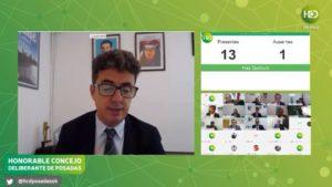 #Coronavirus: el Concejo Deliberante de Posadas sesiona online, vea en vivo